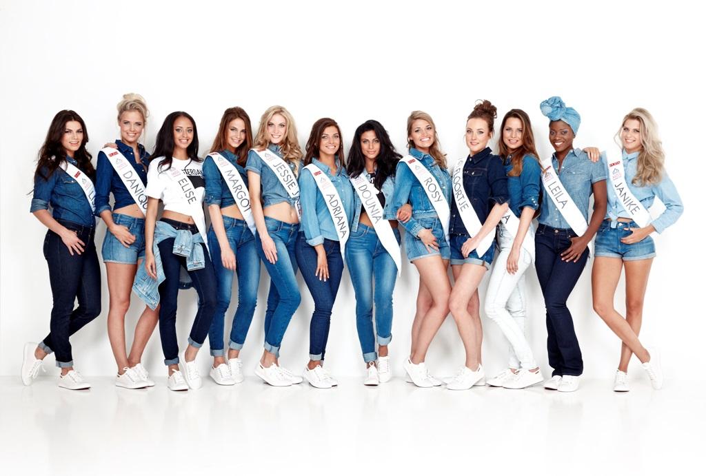 Finalisten 2015 Miss Nederland