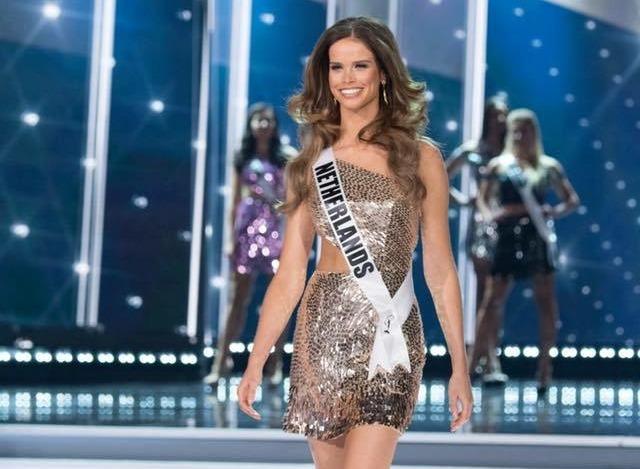 Miss Nederland Nicky Opheij