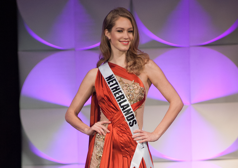 Miss Nederland Sharon Pieksma trots op deelname Miss Universe