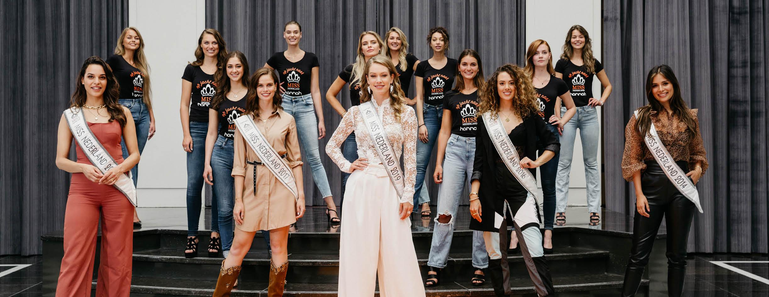 Finalisten Miss Nederland 2020 zijn bekend!