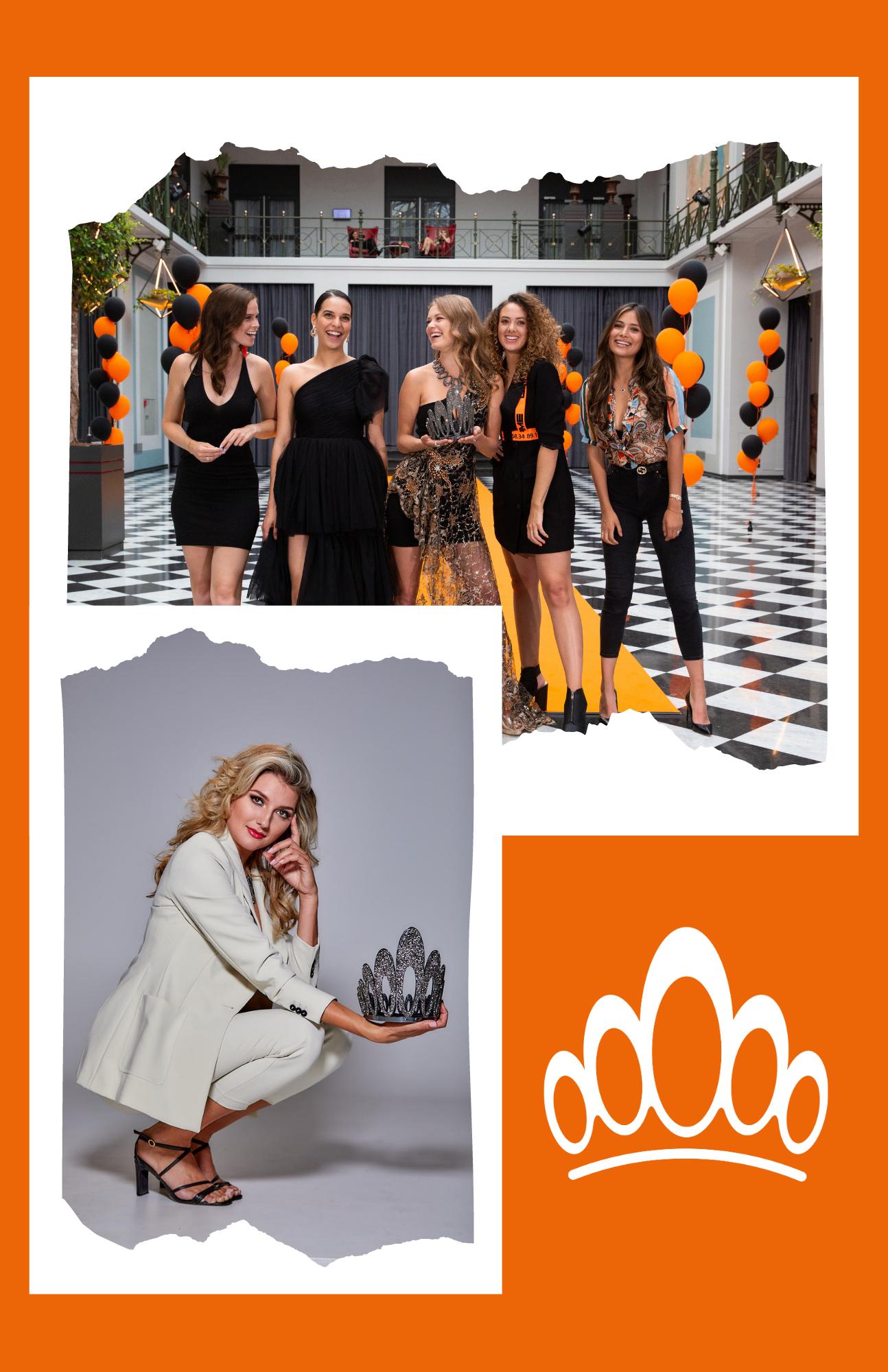 Miss Nederland kroon_ Nicky Opheij, Rahoma Dirkse_Sharon Pieksma, Zoey Ivory, Yasmin Verheije