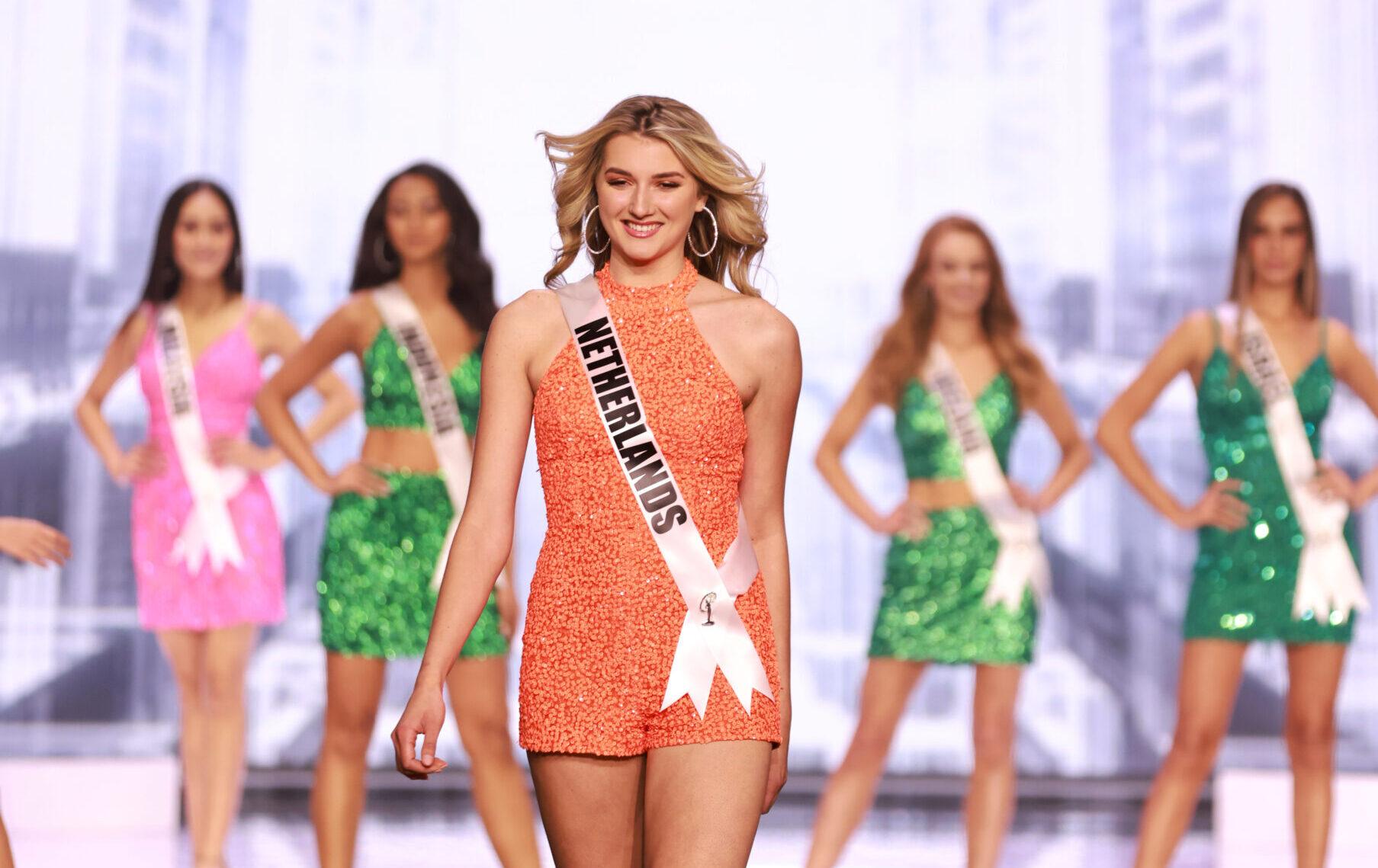 Denise Speelman heeft afgelopen nacht Nederland vertegenwoordigd bij de 69ste Miss Universe verkiezing